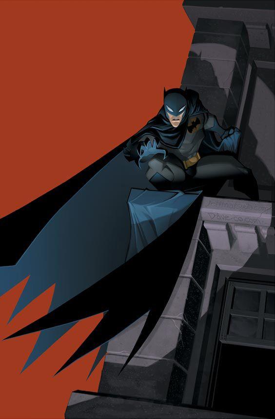 Batman by Jeff Matsuda and Dave McCaig
