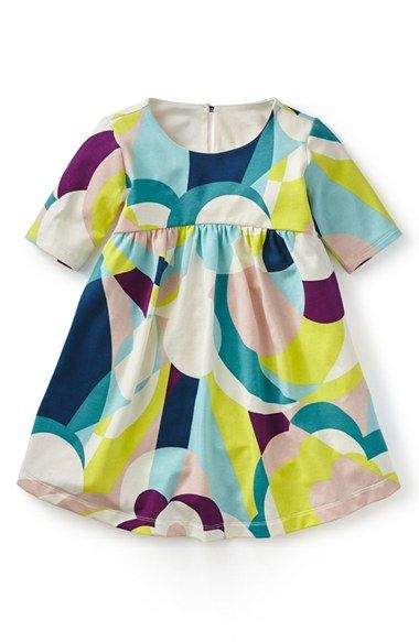 Tea Collection 'Balla Abstract' Print Dress (Toddler Girls, Little Girls & Big Girls) available at #Nordstrom