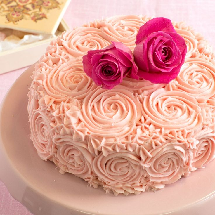 Why not try this Turkish delight cake recipe from BakingMad.com? This soft sponge with Turkish delight and rose water buttercream is a showstopper.