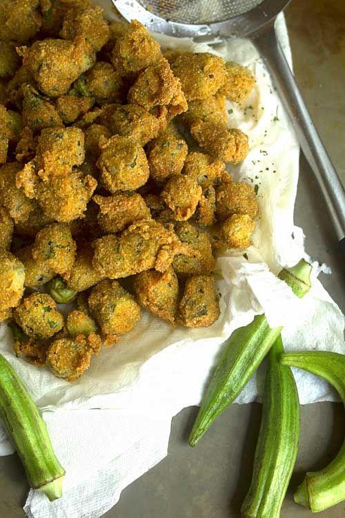 Southern Fried Okra | Grandbaby Cakes