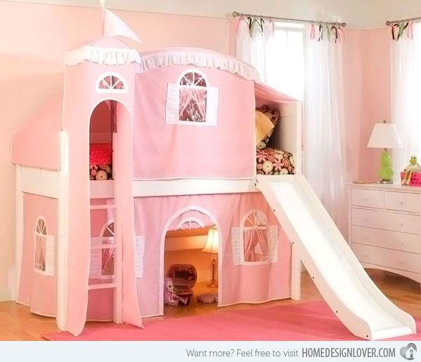 Kid's Bedroom Furniture: Exciting Loft Bed Designs