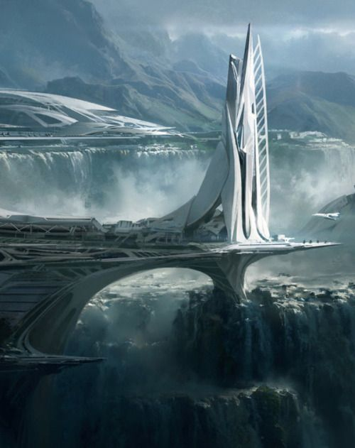 What sort of city must this be?