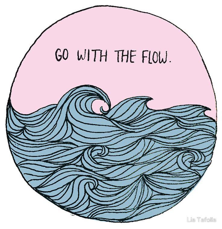 «Go With The Flow» de Lia Tafolla