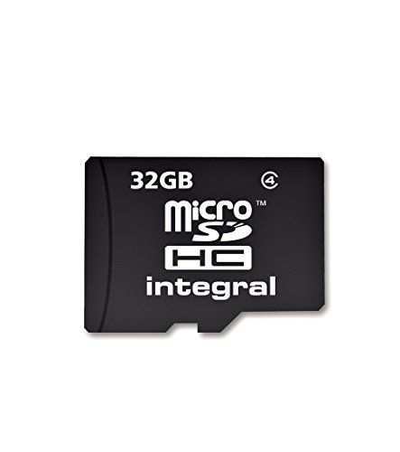 32GB Integral microSDHC CL4 memory card with SD adapter *** You can get more details by clicking on the image.