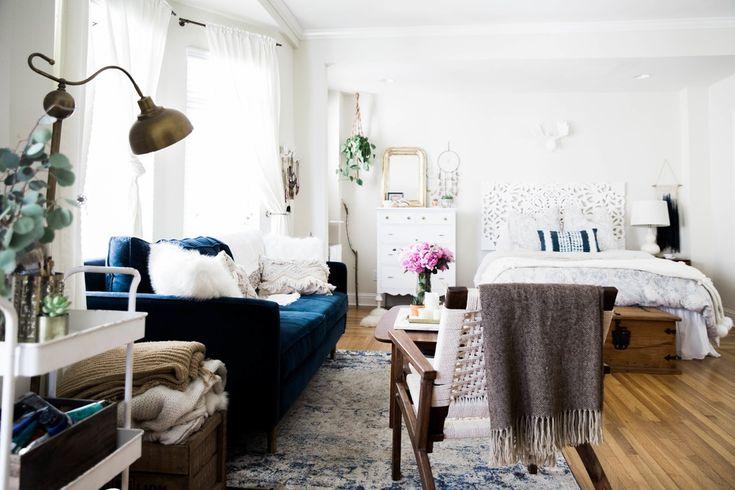 Best 25 Bohemian Studio Apartment Ideas On Pinterest Studio Apartment Layout Cozy Studio