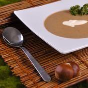 Soupe de châtaignes - une recette Soupe - Cuisine
