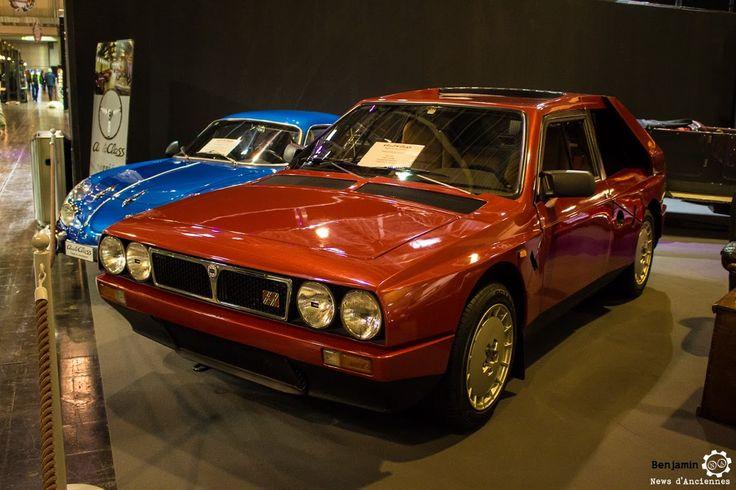 #Lancia #Delta #S4 Stradale au salon #TechnoClassica Essen reportage complet : http://newsdanciennes.com/2016/04/11/techno-classica-essen-reportage-plus-grand-salon-deurope/ #ClassicCar #VintageCar #Voiture #Ancienne
