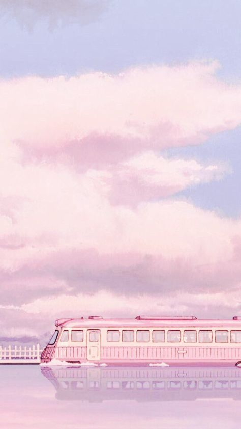 pink trains