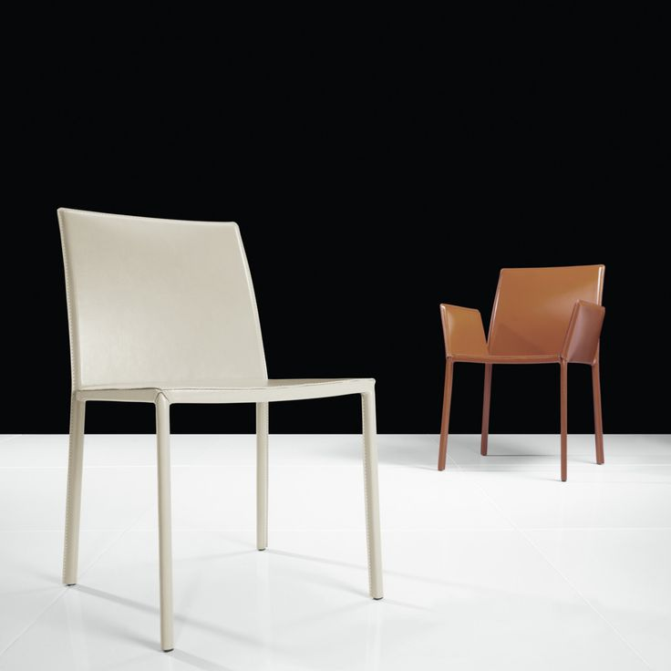 55 White Leather Dining Chair Contemporary Modern Furniture Check More At Http