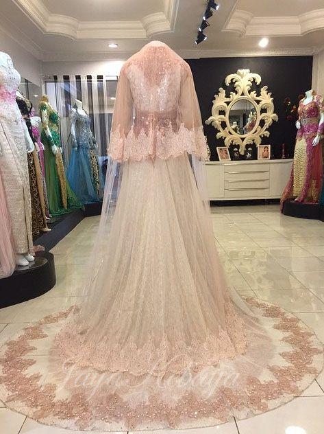 wedding kebaya modern dress Invory 2016