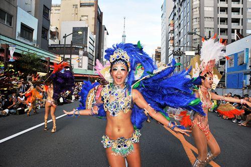 日本最大級!「浅草サンバカーニバル」 が2015年8月29日(土)開催-約4,700人による華やかなダンス