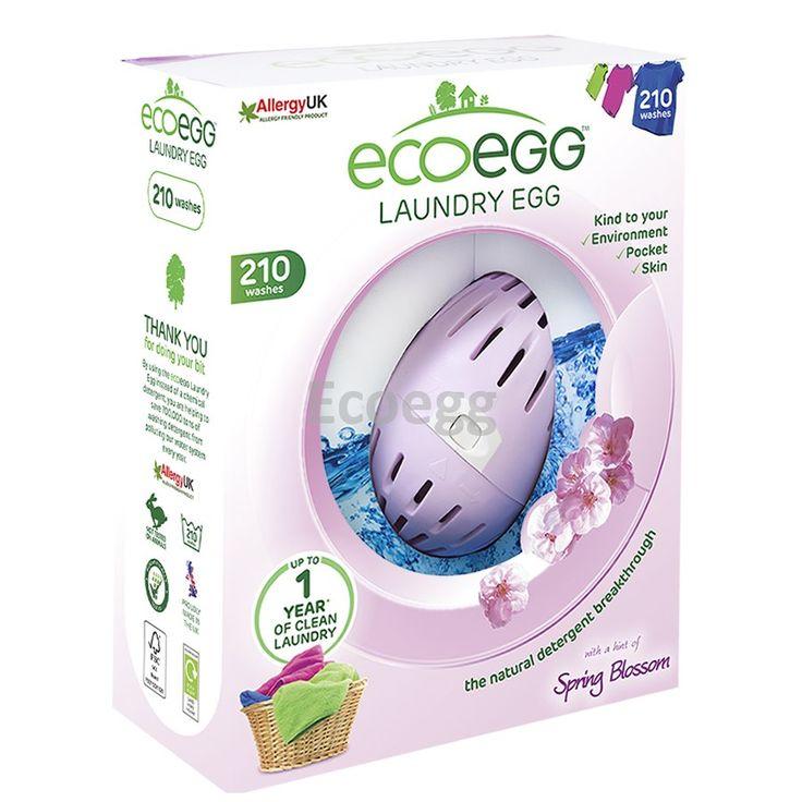 Vajíčko na praní s vůní Jarních květů 54 praní Ecoegg. Využijte dopravu zdarma při nákupu nad 890 Kč nebo výdejní místo zdarma v naší kamenné prodejně NuSpring v Praze.