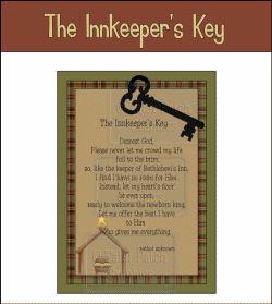 innkeeper's key | The Innkeeper's Key Note Cards | Advent ...
