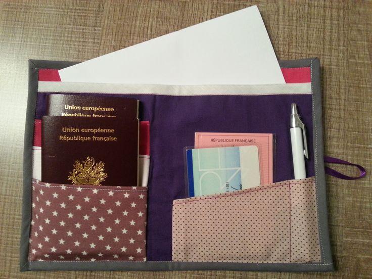 pochette de voyage - Les bricoles d'Anne-Cé