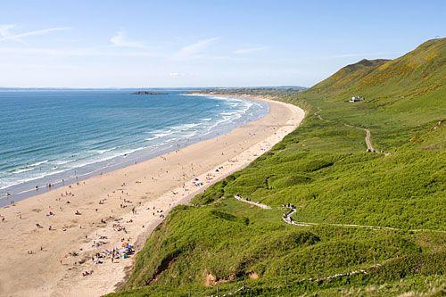 Rhosilli beach, Gower, South Wales