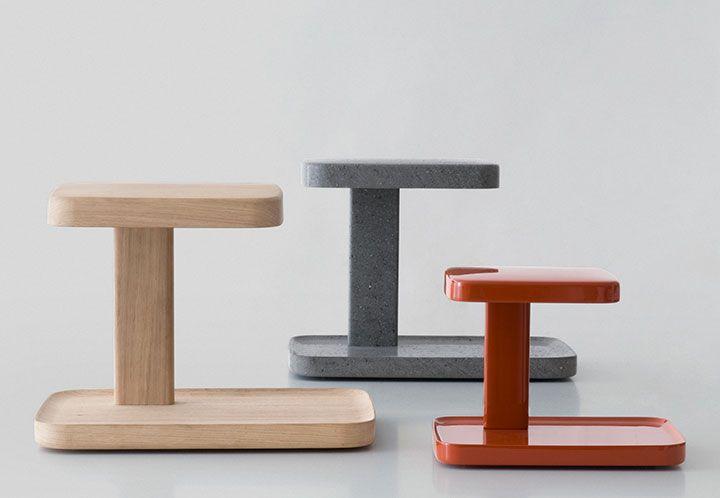 Piani Big Lamp Table Lamp Wood Bouroullec Design Flos