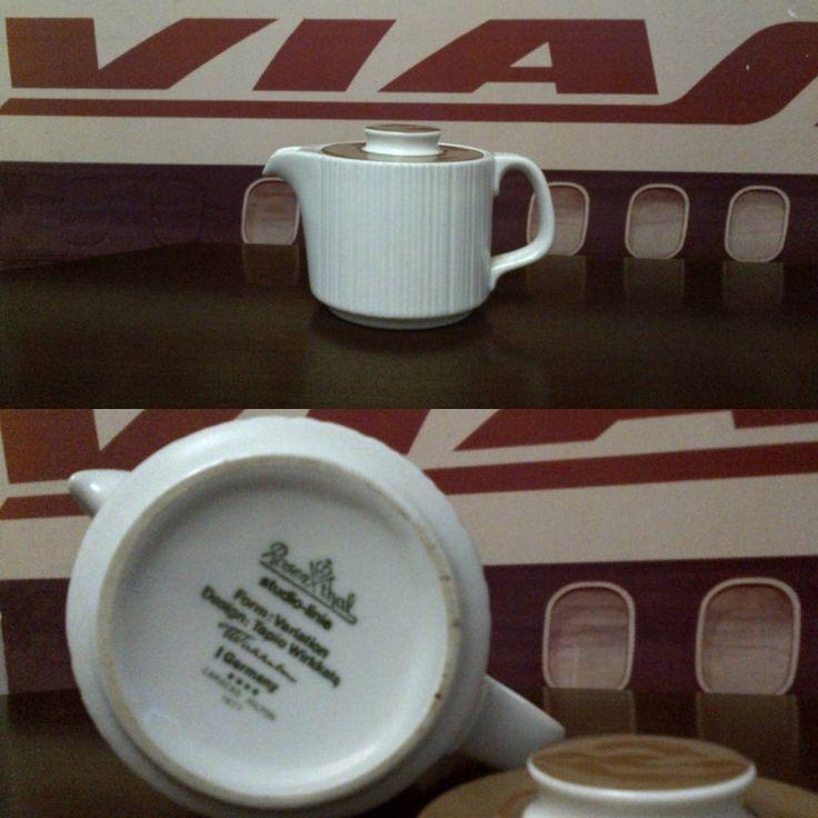 """13 Me gusta, 3 comentarios - Ventas casa IDA (@ventascasaida) en Instagram: """"Cremera de porcelana Rosenthal Estudio-linie, vajilla hotel Caracas Hilton 1977 por Tapio Wirkkala.…"""""""