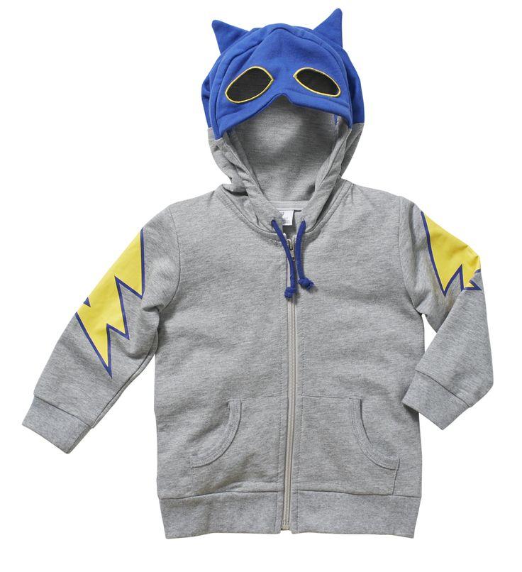Wear Kids Play - Hootkid | Masked Bandit Hoodie, $49.95 (http://www.wearkidsplay.com.au/products/hootkid-masked-bandit-hoodie.html/)