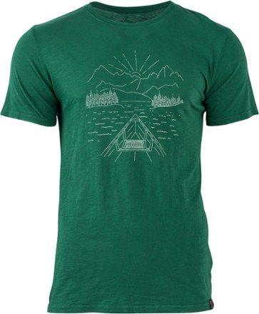 United By Blue Men's Canoe T-Shirt