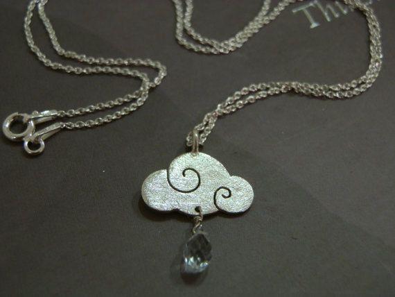 Pendant SWEET CLOUDS in sterling silver and di calcagninigioielli, $45,00