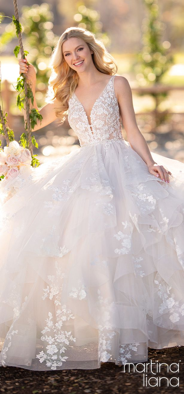 """Martina Liana Wedding Dresses Collection 2020: """"A Statement of Love"""""""