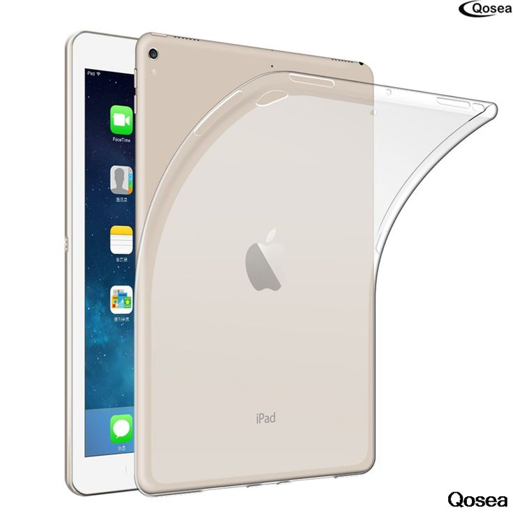 "Qosea For Apple i Pad Pro 10.5""Table Case Ultra-thin Transparent Soft TPU Silicone Protector For Apple i Pad Pro Table Cover #Affiliate"