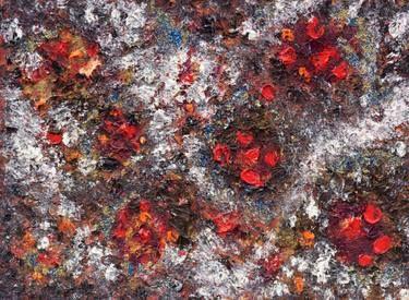 "Saatchi Art Artist Stephia Gonzalez; Painting, ""Flames on Iced water"" #art"