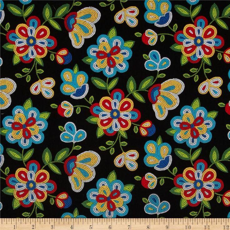 Black Flower Fabric Timeless Treasures Tree Of Life: 332 Best Fabrics Images On Pinterest