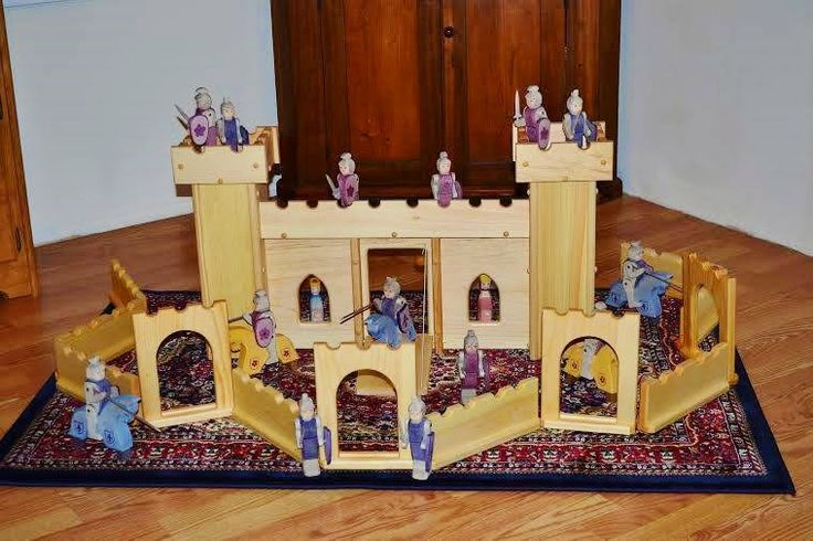 This Elves and Angels castle would be perfect for events with the kids