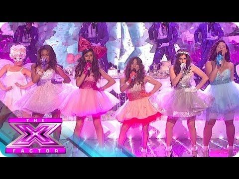 Fifth Harmony's Song of the Series - THE X FACTOR USA 2012