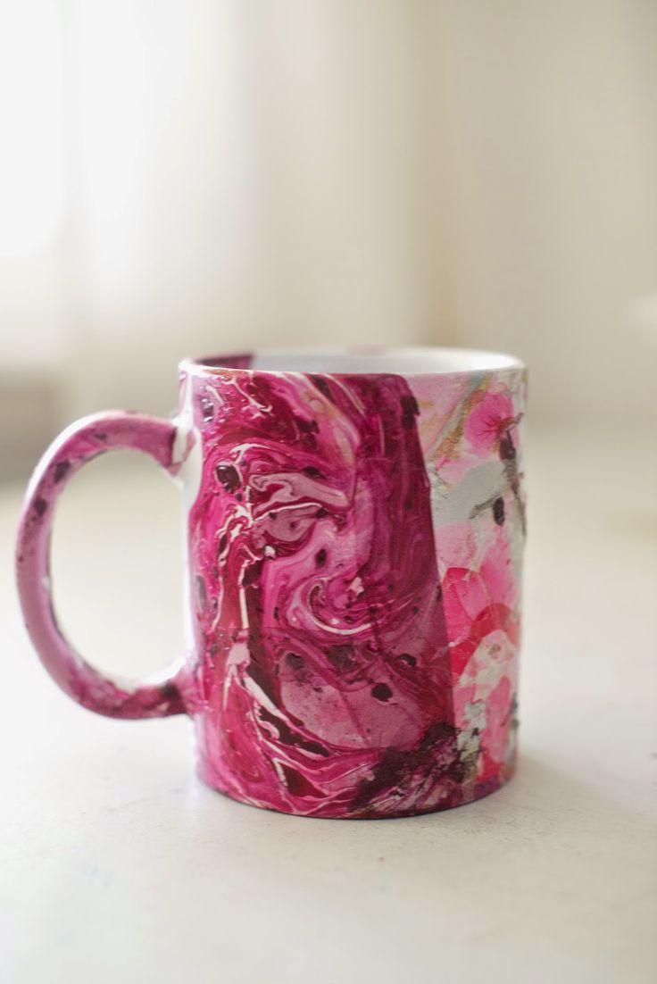 Coffee Cup Design Diy Sharpie Mugs