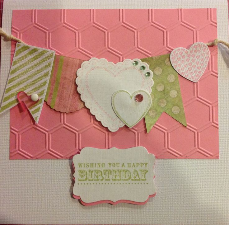 Stampin up hearts a flutter stamps honeycomb embossing for Stampin pretty craft room
