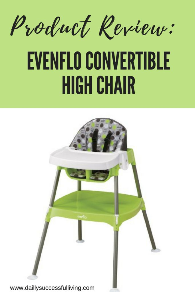 Product Review - Evenflo Convertible High Chair - Detailed List of Positive and Negative Feature s