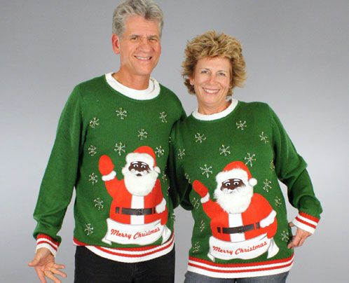 Entire Site Of Ugly Christmas Sweaters Thanks Santachristmas