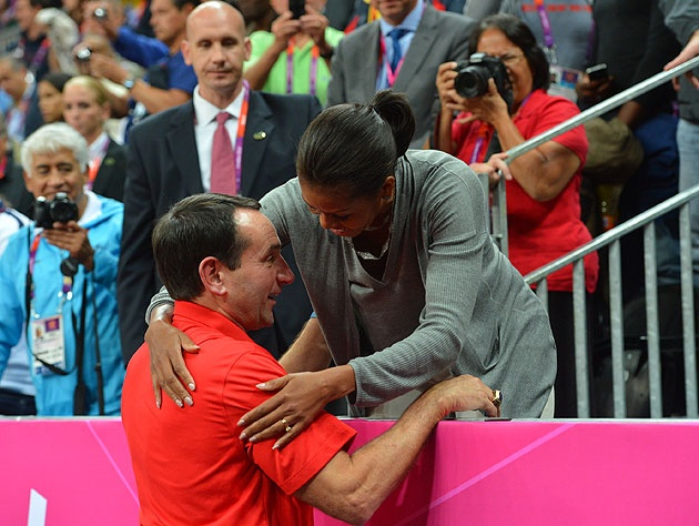 Coach-K-meets-the-first-lady.-Getty-Imag