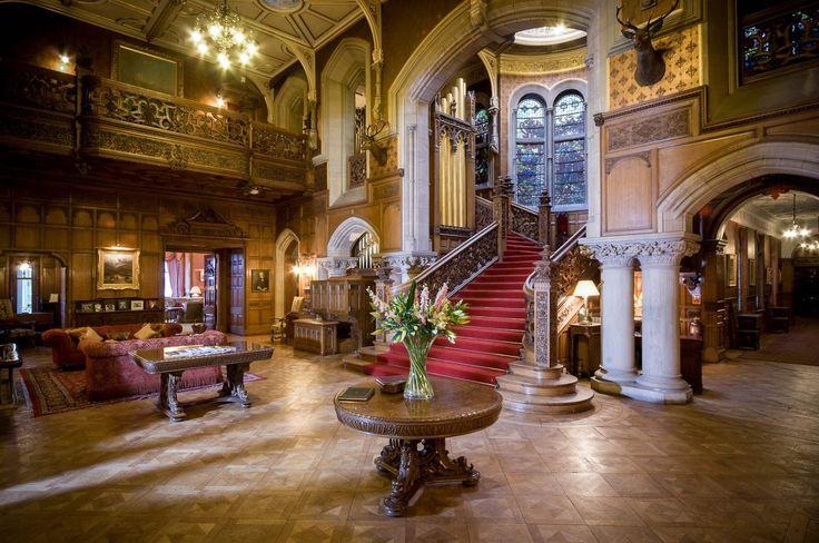 vintage photo interior  Highclere Castle | Skibo Castle Interior