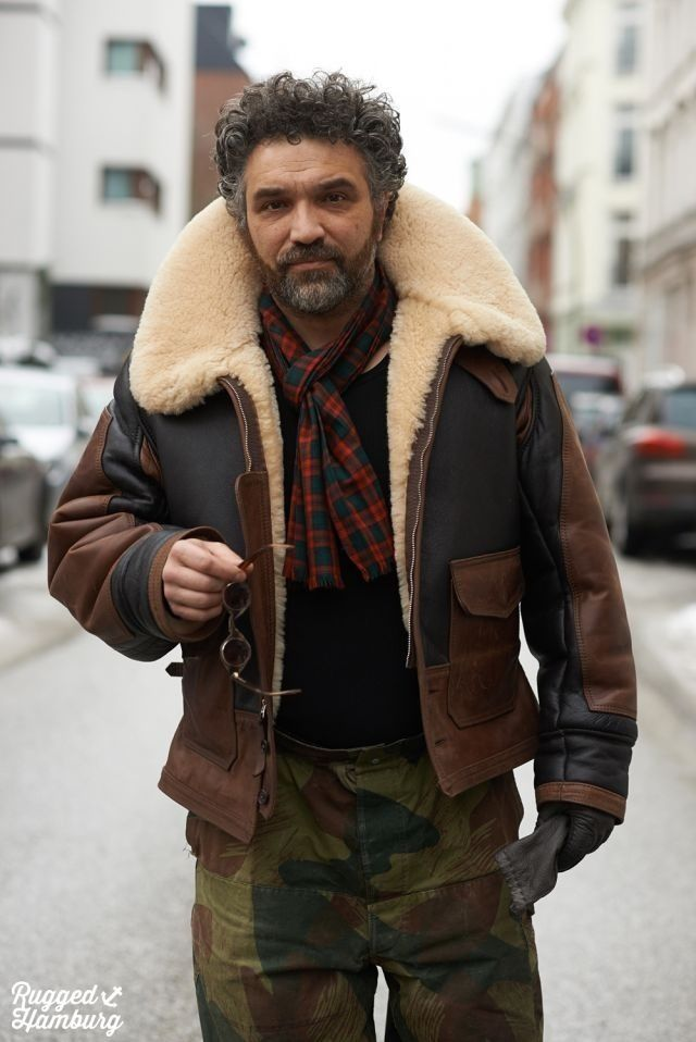 17 Best ideas about Sheepskin Jacket Mens on Pinterest | Sheepskin