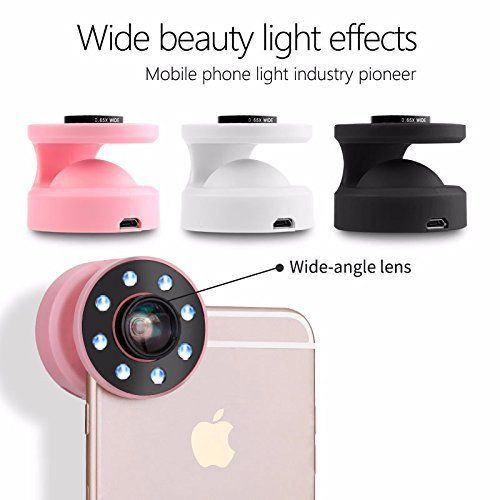 Selfie Up LED Light Phone Lens w/ Flash Light Camera Wide Angle Lens Enhancing Photography For iPhone Samsung Sony--white , http://www.amazon.co.uk/dp/B06Y5DHSG5/ref=cm_sw_r_pi_dp_xH5-ybZAFMEB4