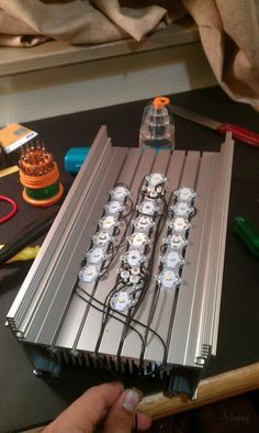 A Complete Idiot's guide to make an LED lighting unit