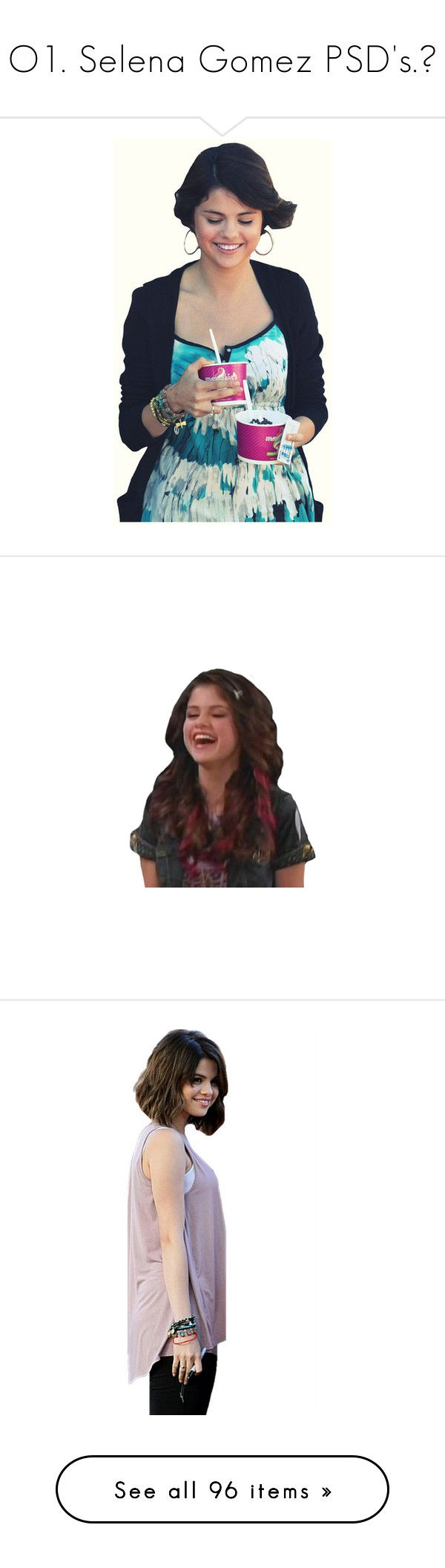 """O1. Selena Gomez PSD's.♥"" by natalialovesyou ❤ liked on Polyvore featuring selena gomez, celebs, pictures, cut outs, selena, celebrities, people, miley cyrus, backgrounds and pics"
