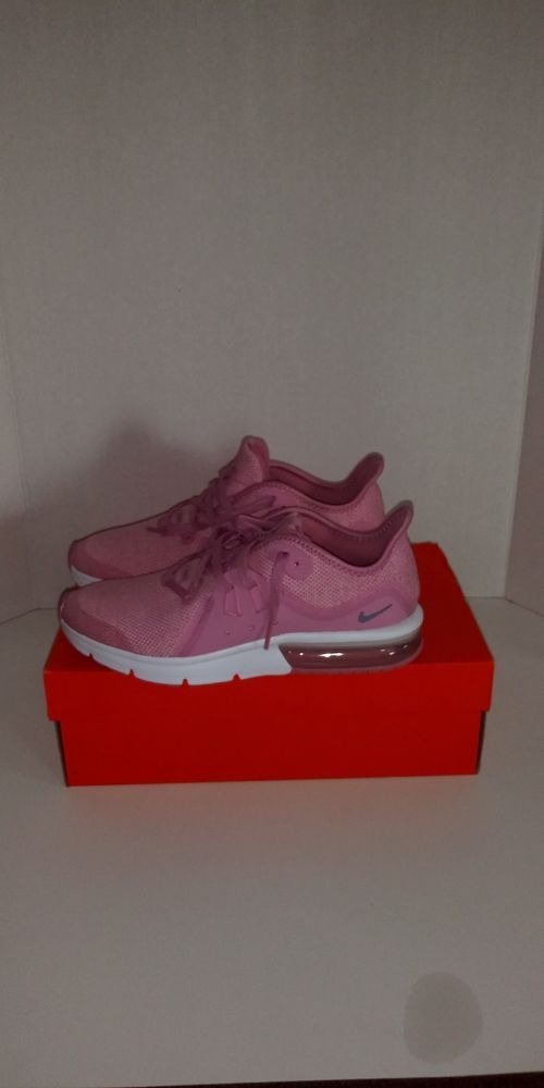 brand new 336f5 31a93 NIKE Air Max Sequent 3 (gs) 922885-601 922885-601 ELEMENTAL PINK SZ 7  Nike   AthleticSneakers