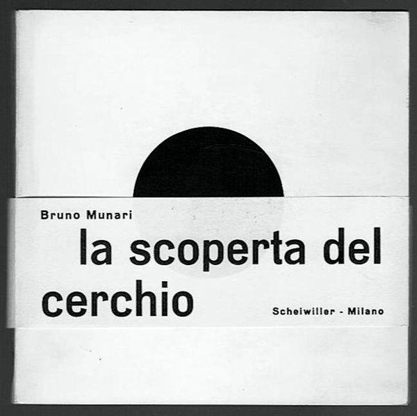 Bruno Munari, La scoperta del cerchio, Scheiwiller, Milano, 1964