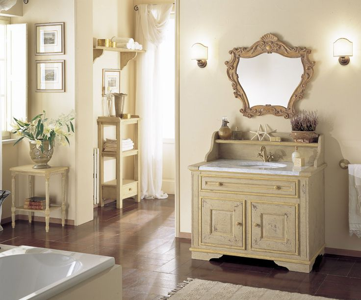 116 best Bathroom ~ Mobili di Castello images on Pinterest ...
