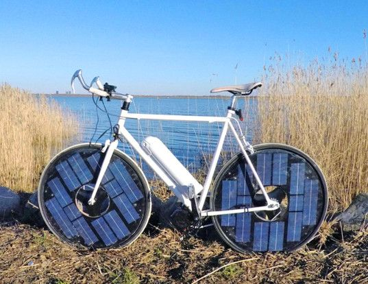 A Solar Powered E-Bike That Goes Over 30 Miles Per Hour!