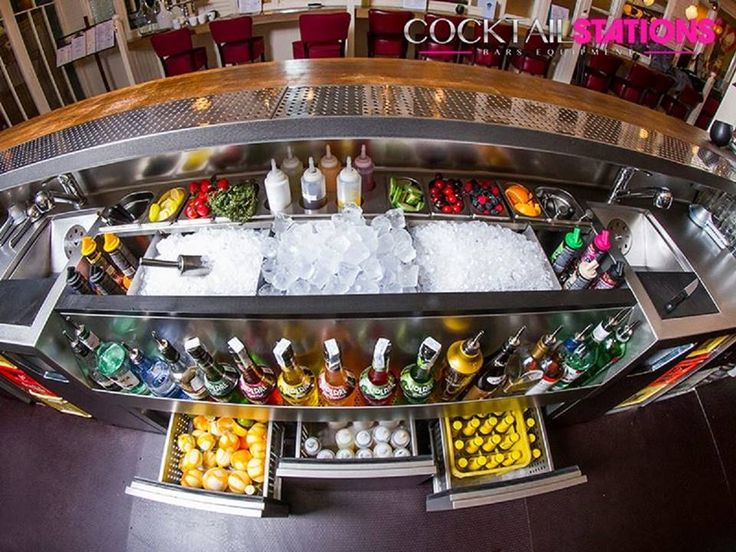Cocktail Bar Station