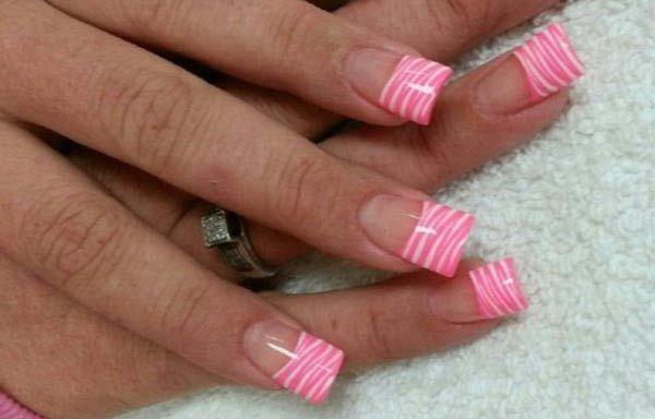 Diseños para las uñas de las manos, diseños para las uñas de las manos rosa. Clic Follow, Únete al CLUB, síguenos! #uñasdemoda #instanails #uñasdiscretas