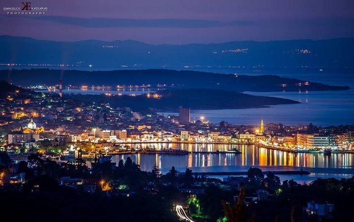 Mytilene by night ⭐️🌟