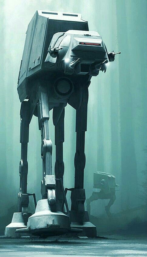 """Imperial AT-AT (All-Terrain Assault-Transport) AKA:  The """"Walker"""""""
