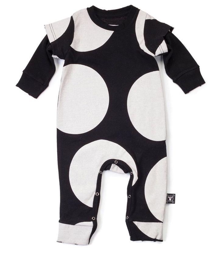 Our Brands :: Nununu :: Circle Playsuit Black -