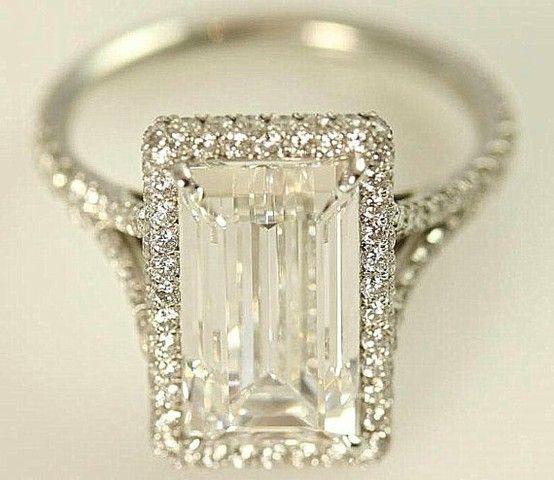 !!!  GIA certified  5 carat  Emerald Cut Diamond by BeautifulPetra, $100000.00